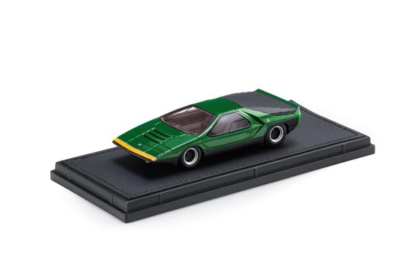 Top Marques 1:43 Alfa Romeo Carabo Green (TM43-13A) Resin car model available on End of November 2020 Pre order now