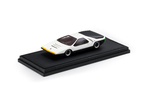 Top Marques 1:43 Alfa Romeo Carabo White (TM43-13B) Resin car model available on End of November 2020 Pre order now