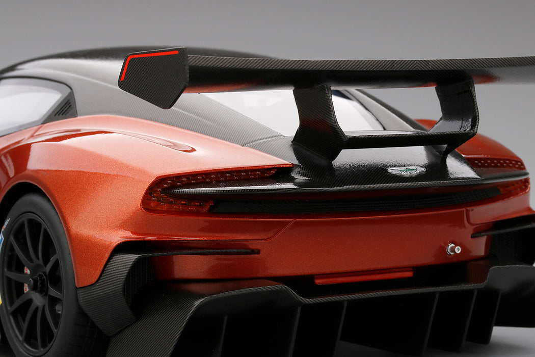 TopSpeed - Aston Martin Vulcan (Volcano Orange) Resin Scale 1:18 TS0026 available on March 2018 Pre-order now