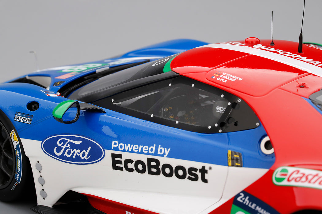 1//18 Ford GT LMGTE Pro car #66 Chip Ganassi 4th Place 2016 LeMans IN STOCK NOW