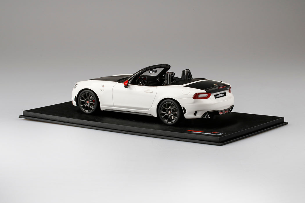 TopSpeed - Abarth 124 Spider Turini 1975 White Resin scale 1:18 (TS0077) limited 999pcs available date to be advise (waiting for Topspeed update)