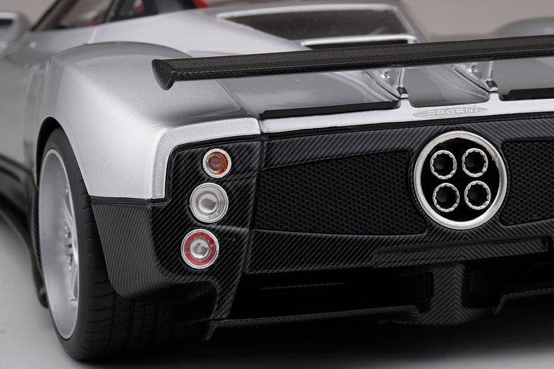 (TopSpeed) Pagani Zonda F (Silver)  Scale 1/18 Resin Model Limited 999 pcs TS0108 available date to be advise (waiting for Topspeed update)