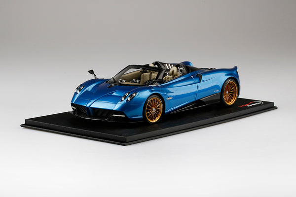 TopSpeed - Pagani Huayra Roadster  Blue Francia Resin scale 1:18 (TS0170) limited 999pcs available on Jan 2018 Pre-order now