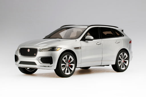 TSM 1:18 Jaguar F-Pace Diecast Full open (Silver) TSM18021 available on July 2018 pre-order now