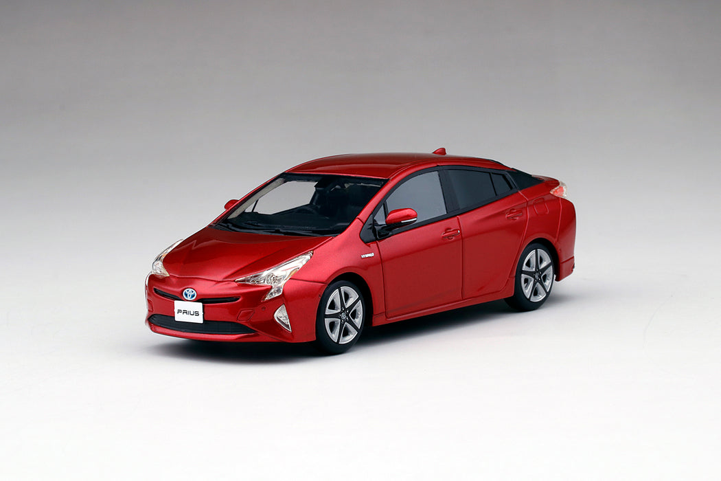 TSM Model - Toyota Prius Hypersonic Red resin scale 1:43 available on dec 2017 pre-order now (TSM430257)