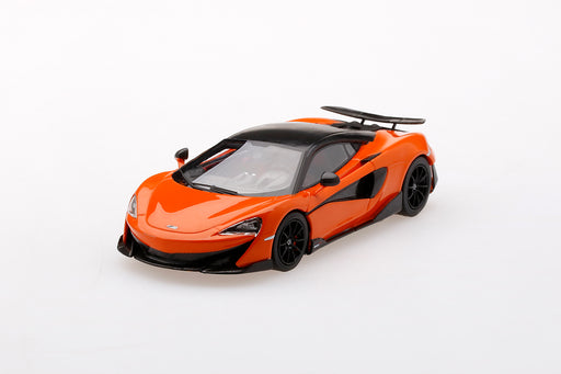 TSM 1:43 McLaren 600LT  Myan Orange (TSM430423) resin car model available on Q3 2019 pre-order item