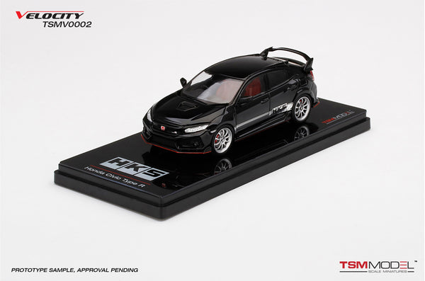 TSM Model 1/43 Honda Civic Type R (FK8) HKS  Black diecast model(TSMV0002) available on End of October 2020 pre-order item