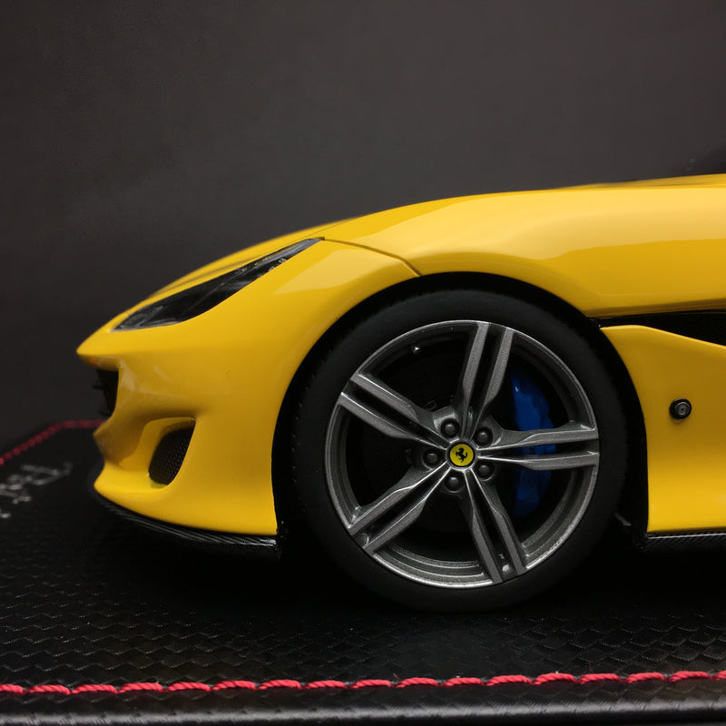 MR Collection 1:18 Ferrari Portofino resin model (Yellow)  available now