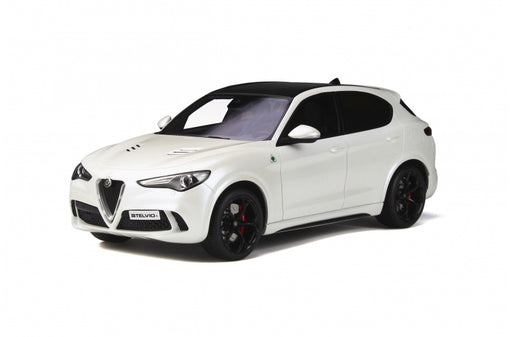 OttO Mobile 1:18 Alfa Romeo Stelvio Quadrifoglio resin car model (OT830)Limited 1500pcs available on Aug 2019