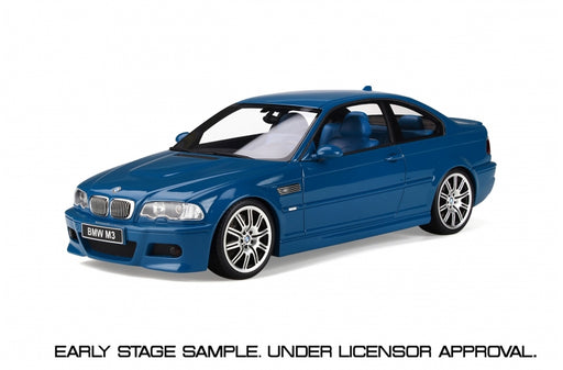 OttO Mobile 1:18 BMW E46 M3 (OT790) resin car model Limited 2000 pcs available on end of Dec 2019 Pre-order item