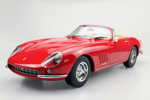 Top Marques -  275 GTB /4  Spider (Red) 1:12 resin model (TM12-04D) available now
