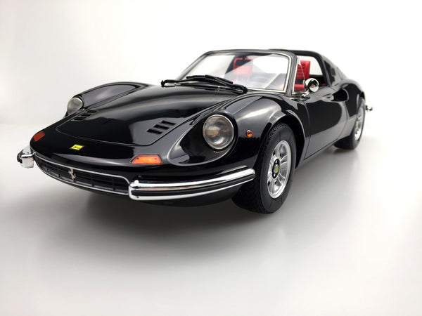 Top Marques - Dino 246 GTS  in Black resin scale 1:12 (TOP12_02F) available on end of April 2018 Pre-order now