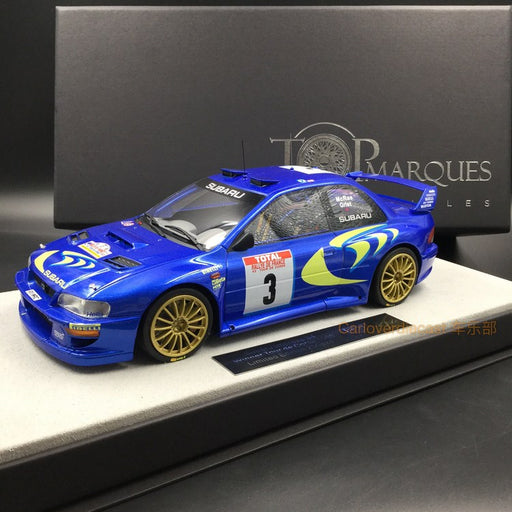 Top Marques 1:18 Impreza S4 WRC Tour de Corse resin car model TOP40B