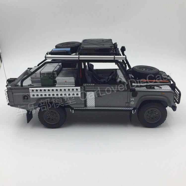 Kyosho 1:18 Landrover Defender Movie edition (KSR08902TR-B) resin car model