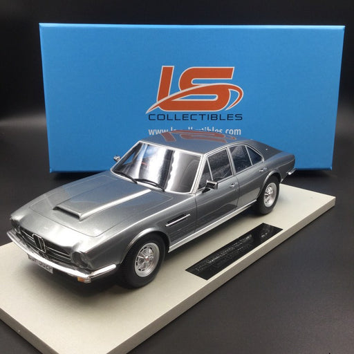 LS Collectibles  1:18 Aston Martin Lagonda 1974 Saloon (Silver) LS024B available Now