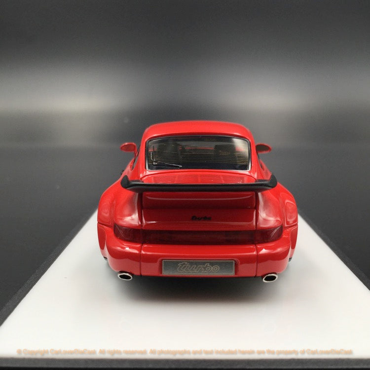 Makeup 1:43 Porsche 911(964) Turbo 3.3 1991 (Red) VM123C resin car model