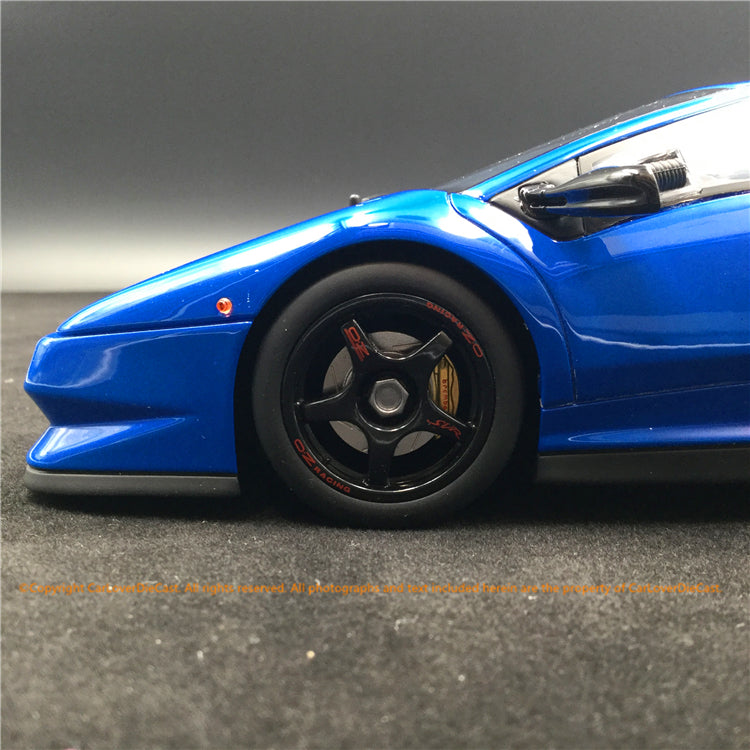 Kyosho 1:18 Lamborghini Diablo SVR  Blue (KSR18510BL-B) resin car model limited world wide 500 units