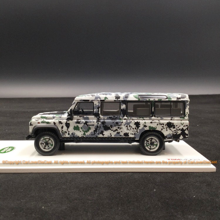 "TSM 1:43 Land Rover Defender CNN Armoured Defender  ""Pizza Truck"" resin car model (TSM430215)"