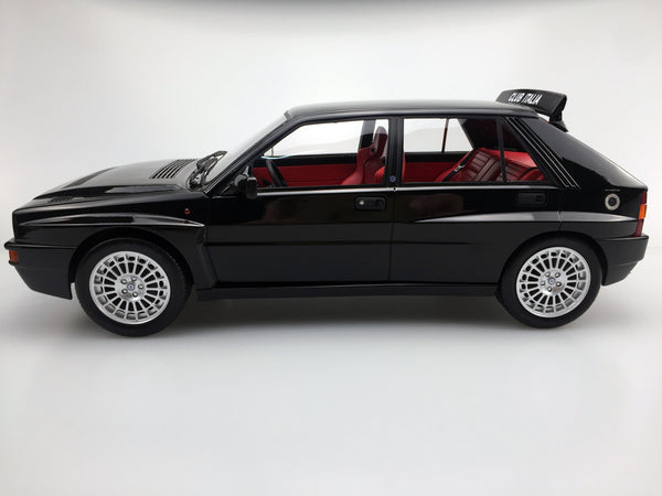 Top Marques - Lancia Delta Integrale EVO II Club Italia 1992 (Dark Blue) resin scale 1:12 (TM12-01E) available on end of April 2018 Pre-order now