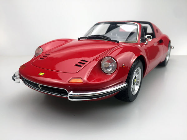 Top Marques - Dino 246 GTS  in Red  resin scale 1:12 (TOP12_02G) available on end of April 2018 Pre-order now