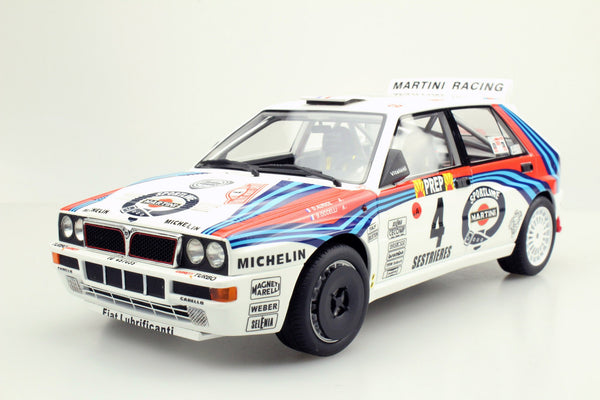 Top Marques 1:43 Lancia Delta MC Rally Car 1992  n. 4 - Auriol/Occelli TM43-004A resin car model available on End of Oct 2019 pre-order item