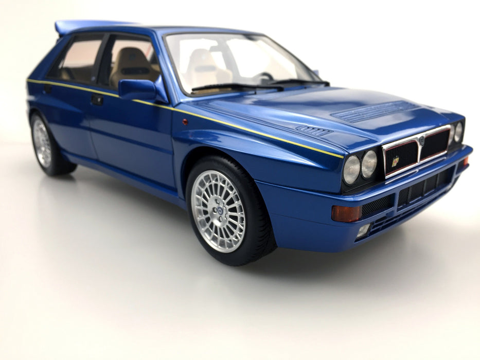 Top Marques - Lancia Delta Integrale EVO Blue Lagos resin scale 1:12 (TM12-01D) available on end of April 2018 Pre-order now