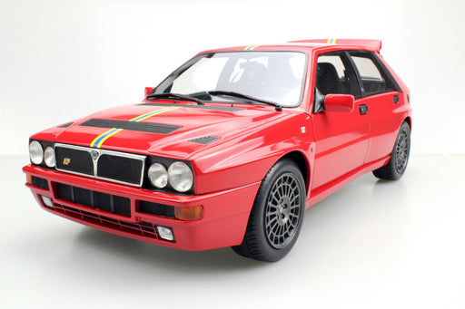 Top Marques - Lancia Delta Integrale EVO 1995 Final Edition (Red) resin scale 1:12 (TM12-01F) available on end of April 2018 Pre-order now