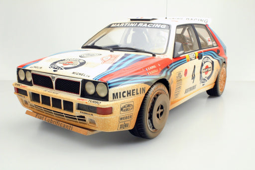 Top Marques - Lancia Delta HF Integrale #4 Winner MCarlo 1992 (Dirt version)  resin scale 1:12 (TMR12_01AD) available on end of April 2018 Pre-order now