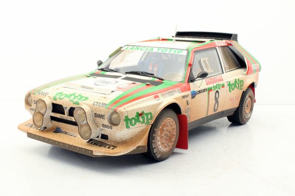 Top Marques 1:12 Lancia Delta S4 #8 (Dirt Version)  resin scale 1:12 (TMR12-04BD) Limited 100 units available on End of March 2019 Pre-order item