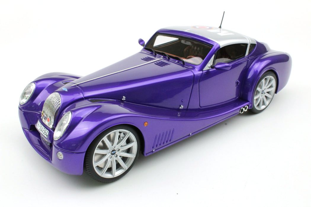 Top Marques - Morgan Aero Super Sport in Bugatti Violet resin scale 1:18 (TOP51B) available on end of May 2018 Pre-order now