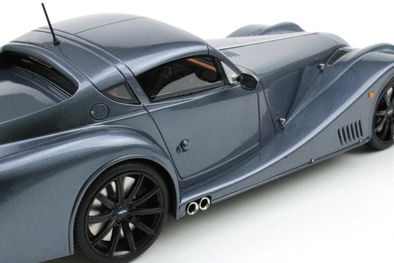 Top Marques - Morgan Aero Super Sport in Satin Gray resin scale 1:18 (TOP51C) available on end of May 2018 Pre-order now