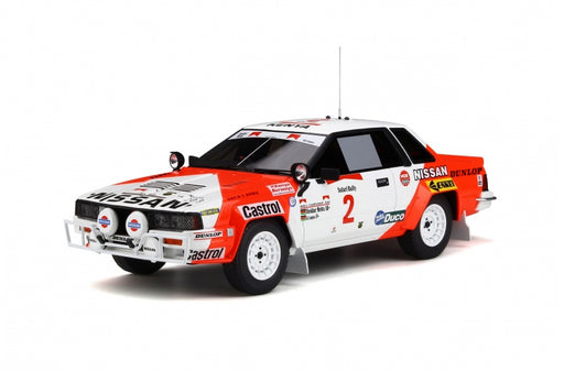 OttO Mobile 1:18 Nissan 240 RS Safari Rally 1984 resin car model (OT765) Limited 2000 pcs available on end of July 2019 Pre-order now