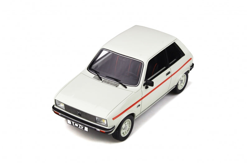 OttO Mobile 1:18 Peugeot 104 ZS  Resin car model (OT812) available on End of April 2020 pre-order item