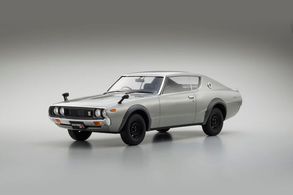 (Kyosho) Samurai Series Nissan Skyline 2000 GT-R Resin Scale 1/12 in Silver (KPGC110) available on end of aug Pre-order now
