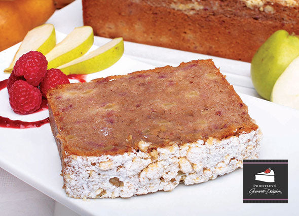 Priestley Pear & Raspberry Bread