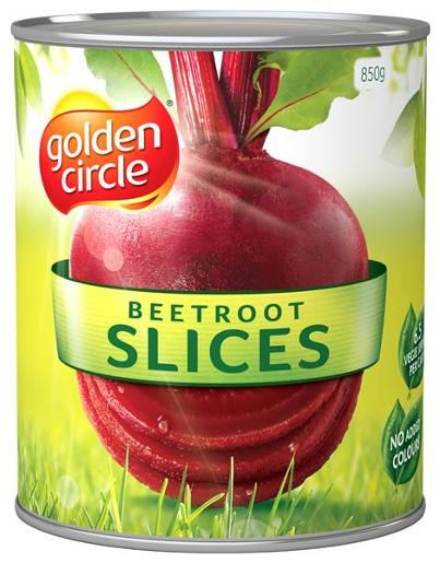 G/C Sliced Beetroot 850gm