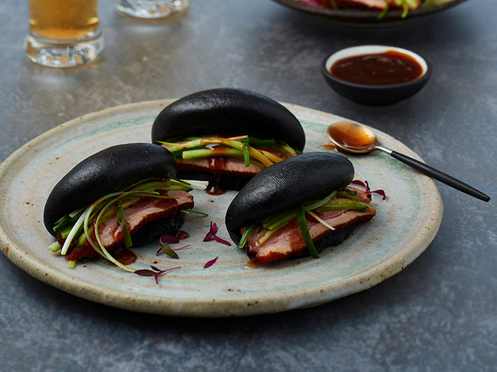 I & J Bao Buns BLACK 15x32gm