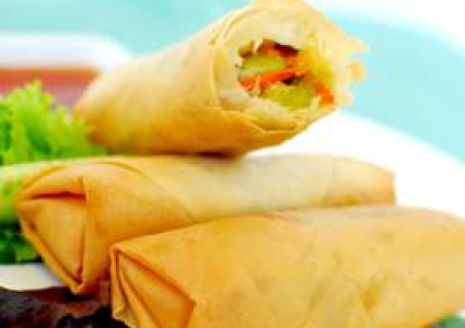 Hakka Spring Roll - Medium Veg 36 x 50gm