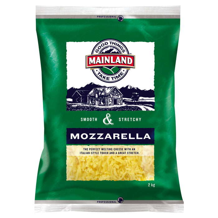 Mainland Shredded Mozzarella 2kg