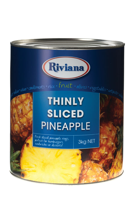 Riviana Pineapple Thins 3kg