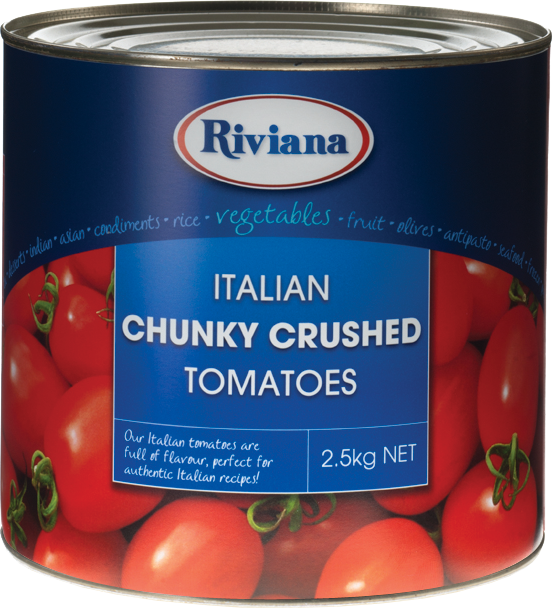 Riviana Chunky Crushed Tomato 2.5kg