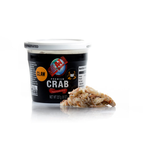 A&T BlueSwimmer Crab Claw Meat 227gm