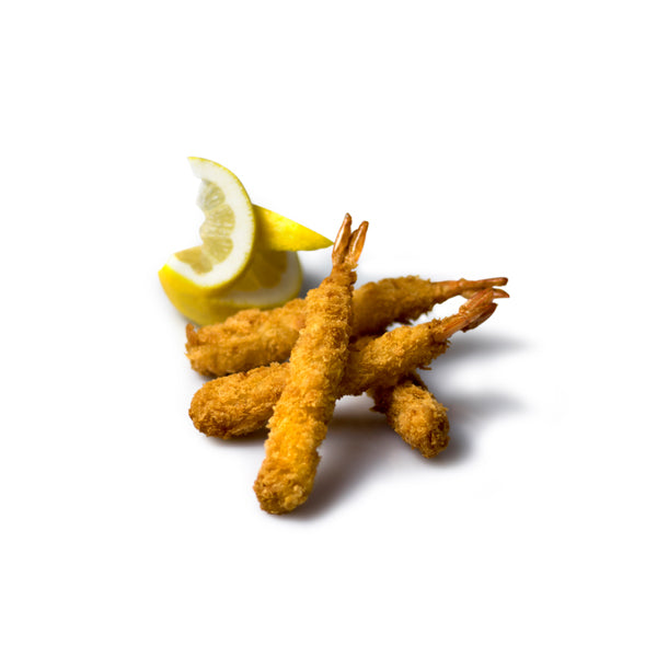 A&T Panko Crumbed Torpedo Prawns 1kg