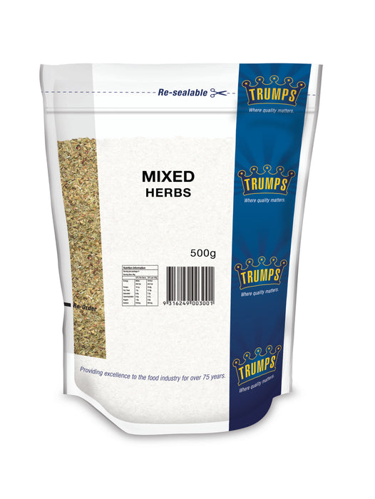 Trumps Mixed Herbs 500gm