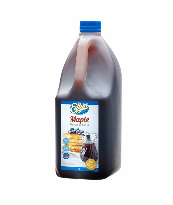 Edlyn Maple Flavoured Syrup 3lt