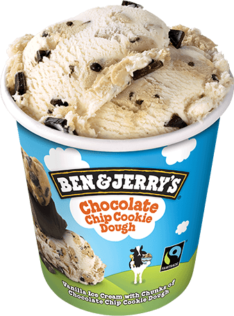 Ben & Jerry's Choc Chip Cookie Dough 458ml