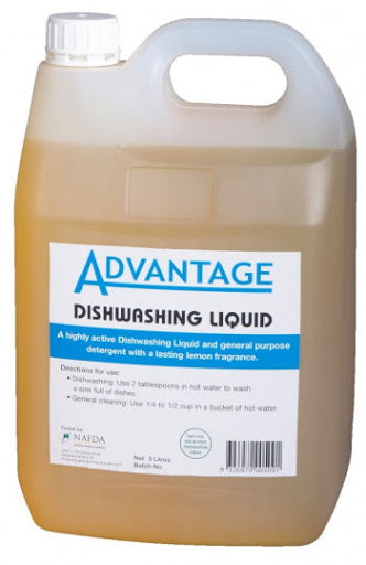 Advantage Dishwash Liquid 5lt
