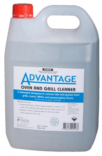 Advantage Oven Grill Cleaner 5lt