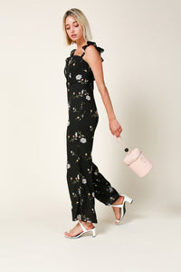Line and Dot Darcey Ruffle Sleeve Jumpsuit