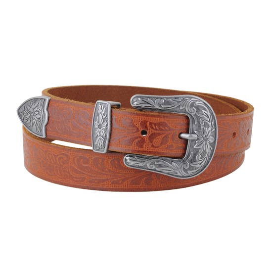 Most wanted Slim Classic tooled belt